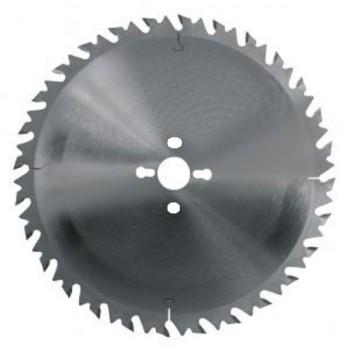 Hoja de sierra circular diámetro 600 mm - 36 dientes con limitador para leña maquinas Gaubert y Seca