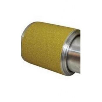 Rotolo abrasivo grana 60 per cilindro levigatore altezza 100 mm, 5 metri