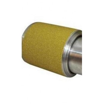 Schleifpapierrollen Körnung 60 für Zylinderschleifhöhe 100 mm, 5 meter