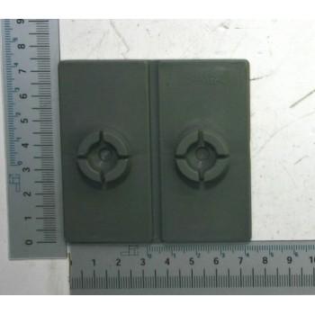 Suela de plástico del cortador de troncos horizontal Scheppach HL650 y Woodster LH65
