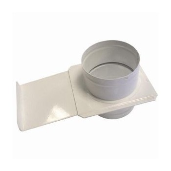 Düse mit reißverschluss-shutter-durchmesser 100 mm (luke guillotine)