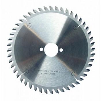 Lame de scie circulaire carbure dia 160 mm - 48 dents alternées - spécial Festo (pro)