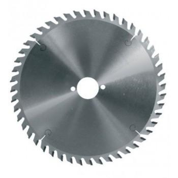 Hoja de sierra circular diámetro 160 mm eje 20 mm - 48 dientes trapez para MDF y paneles para Festool