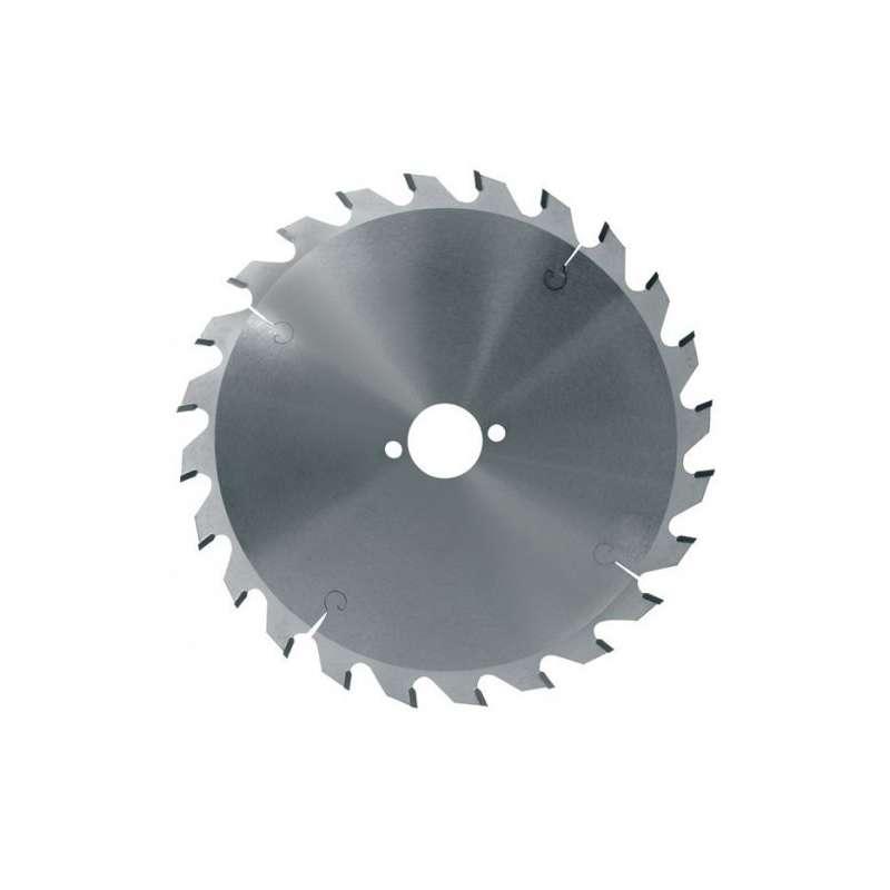 Hoja de sierra circular diámetro 190 mm eje 30 mm - 24 dientes