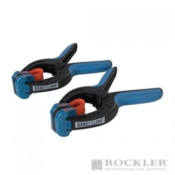 Pinces de serrage pour encollage des bords Rockler (lot de 2)