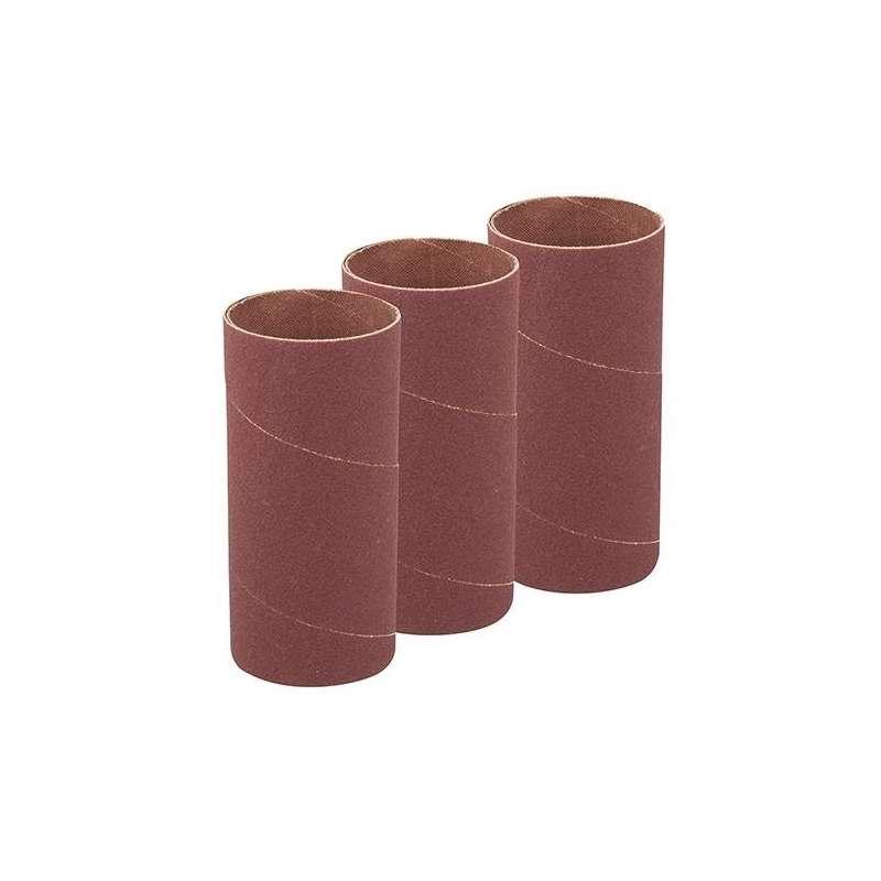 Manchon abrasif Ø51 mm hauteur 140 mm grain 60 pour ponceuse oscillante (lot de 3)