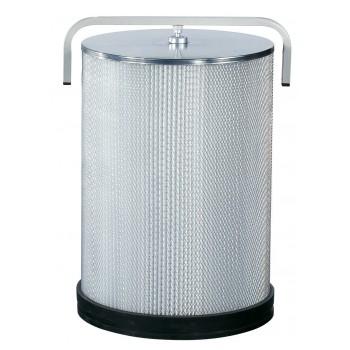 Cartuccia filtro per polveri fini FP2 diametro 500 mm per Aspirapolvere per trucioli