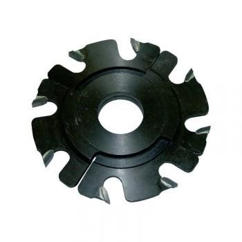 Fraise à rainer carbure 8 coupes Ø150 extensible 5 à 10 mm