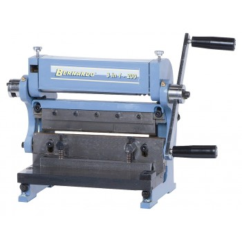 Thread rolling machine, brake and shear ! 3-in-1 200 mm