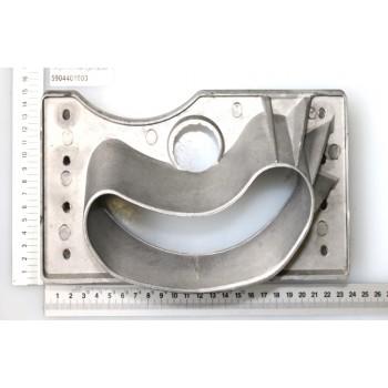 Knife protection for chipper shredder Scheppach GSH3400