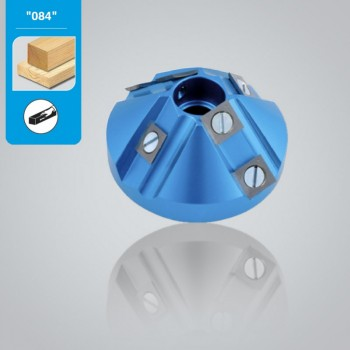 Teste portacoltelli per smussare a 45° diametro 84 mm Leman