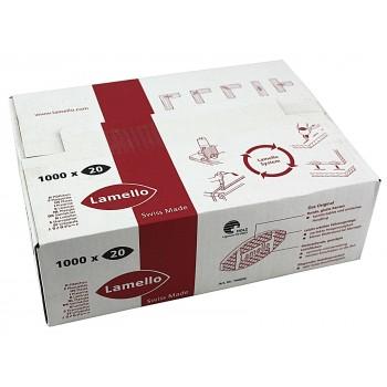 Carton de 1000 lamello n° 20 : dimensions 56x23x4 mm (lamello)