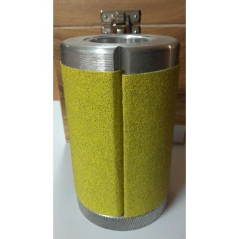 Sanding cylinder diameter 60 mm height 100 mm for spindle moulder 30 mm