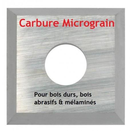 Plaquette carbure (araseurs) micrograin 14x14x2.0 mm, boite de 10 pièces