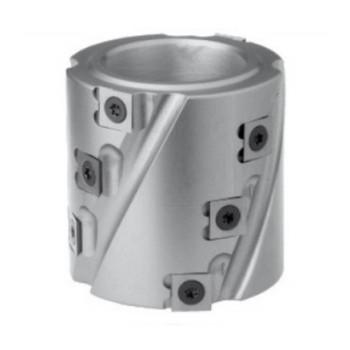 Spiral cutter head Height 80 mm for spindle moulder shaft 50 mm