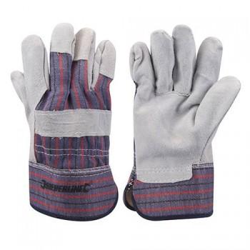 Handschuh aus gegerbtem Leder