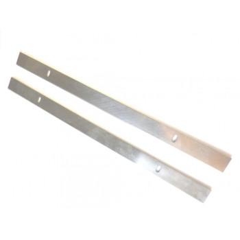 Jeu de 2 couteaux de dégauchisseuse 261x16.5x1.5 mm pour HMS1070