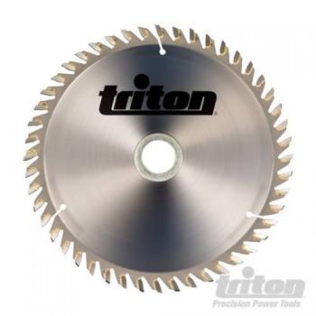 Hoja de sierra circular diámetro 165 mm eje 20 mm - 60 dientes