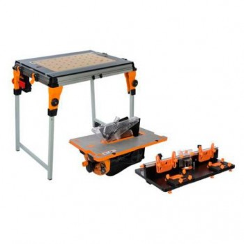 Triton Workcentre TWX7 Set con TWX7CS1RT1 Router Table e Table Saw Modules