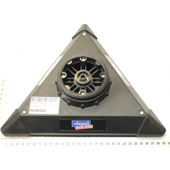 Bandeja triangular para lijadora vibratoria Scheppach DS210