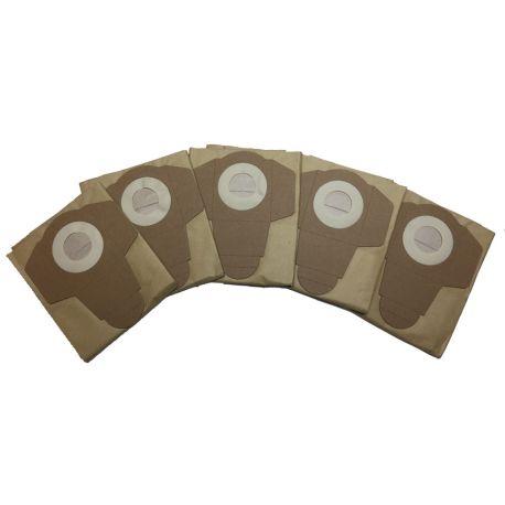 Bolsa de papel para aspiradoras Leman LOASP201 (pack de 5)