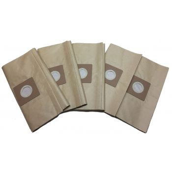 Bolsa de papel para aspiradoras taller Leman LOASP306 (pack de 5)