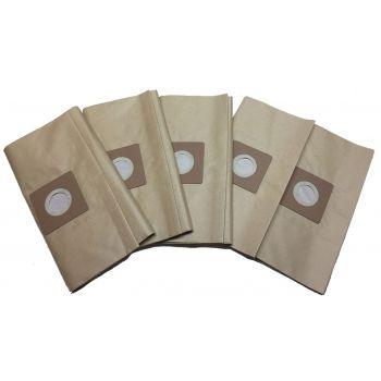 Sacchetti di ricambio per aspiratore Leman LOASP306 (5 pezzi)