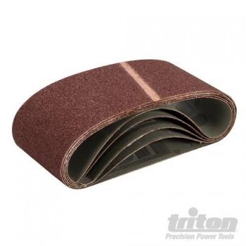 Schleifbänder 100x560 mm auf leinwand Körnung 80 für Bandschleifer