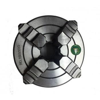 Mandrin de dressage 4 mors 125 mm pour tour à métaux