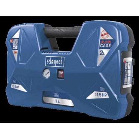 0a653793f14c28 Compresseur portatif SCHEPPACH AIR CASE avec kit d accessoires