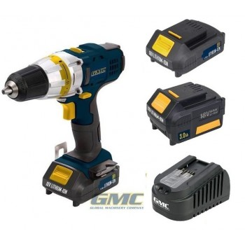 Driver drill dévisseuse GMC 18V - Li-ion