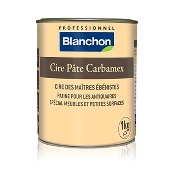 La cera de Briançon carbamex masa, caja de 400 (g - Colori ébano