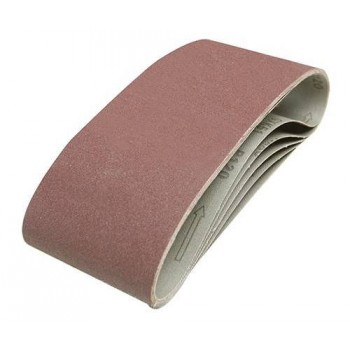Bande abrasive 100x610 mm, grain 120, le lot de 5