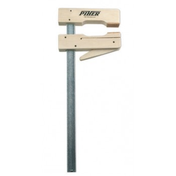 Wooden Clamp Piher depth 110 mm length 300 mm