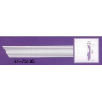 Modanature da cornicione ET75185 lunghezza 2,40 m x larghezza 53,5 mm