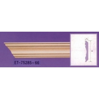 Molding cornices AND-75285 long 2.40 m x width 84 mm x pe 12 mm