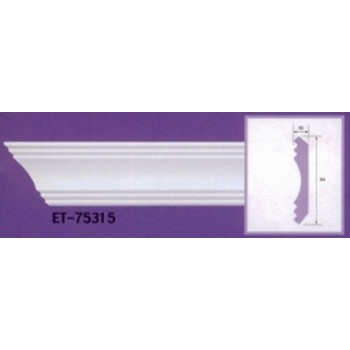 Molding cornices AND-75315 long 2.40 m x width 94 mm x t 16 mm
