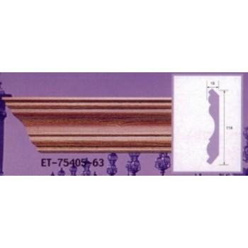 Modanature da cornicione ET75405 lunghezza 2,40 m x larghezza 114 mm