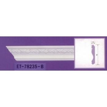 Modanature da cornicione ET78235 lunghezza 2,40 m x larghezza 70 mm
