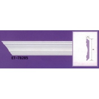 Molding cornices AND-78285 long 2.40 m x width 84 mm x pe 12 mm