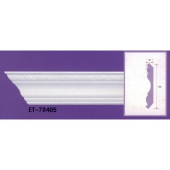 Molding cornices AND-78405 long 2.40 m x w 114 mm x t 18 mm