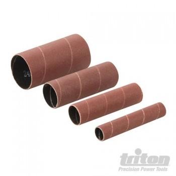 Manchons abrasifs grain 80 pour ponceuse oscillante Triton TSPSP650