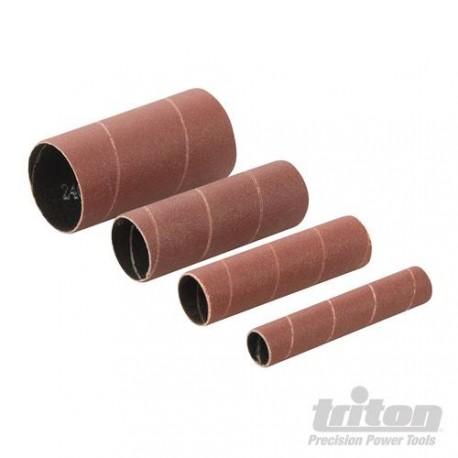 Schleifhülsen 76 mm für Triton TSPS650, körnung 80 - Durchmesser 13 - 19 - 26 - 38 mm