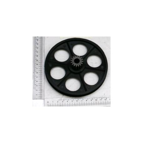 Poulie pour les dégauchisseuses largeur 204 mm Kity Scheppach et Woodster (avant 2006)