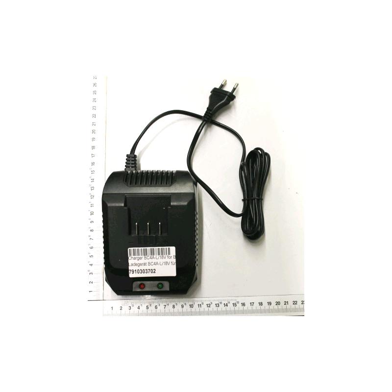 Caricatore per attrezzi giardino su batteria Scheppach GS18-3Li