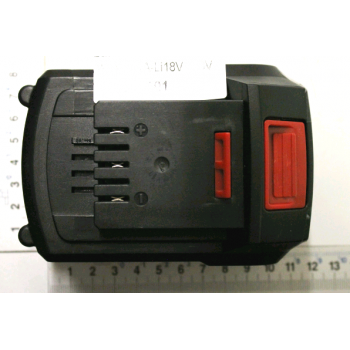 Batteria 4ah per attrezzi giardino su batteria Scheppach GS18-3Li