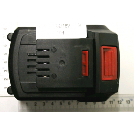 Batterie 4ah pour outils de jardin sur batterie Scheppach GS18-3Li