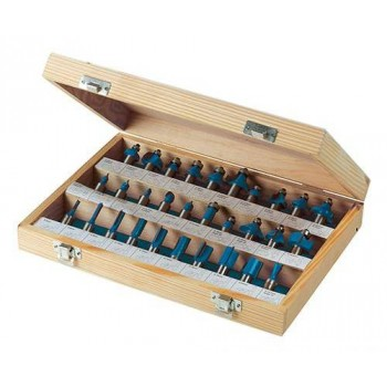 Cutters router shank 12.7 mm, box of 30 different profiles !