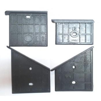 Kunststoffsohle für vertikale Holzspalter Scheppach OX1-650