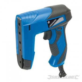 Compact Corded Nailer Stapler 15 mm Silverline